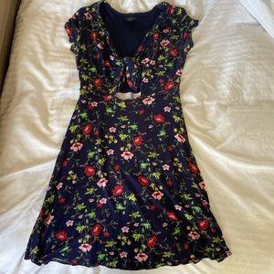 Topshop summer floral dress